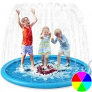 Summer Water Spray Pad Sprinkle Splash Playing Mat for Kid and Pet