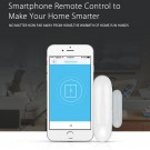 2.4G Hz Smart WiFi Contact Open and Close Door Window Sensor Supports Intelligent Voice Control such as Alexa Google Assistant