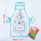 Human Organs Children Teaching Apron with Hook and Loop Tapes