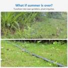 Summer Trampoline Sprinkler Garden Spray Hose Water Sprinkler