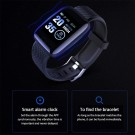 2 X 116plus Waterproof Smart Watch Sports Fitness Trackaer with Heart Rate Monitor for Men and Women