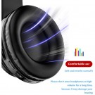 B39 LED Light Up Foldable Headset Bluetooth 5.0 Stereo Headphones Built in Microphone