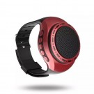 2 X U6 Multi Function Portable Wireless Wrist Bluetooth Speaker Watch with Colourful Lights