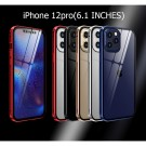 Magnetic Case Alloy Bumper Frame Full Protective Phone Case for iPhone 12 Series iPhone12mini iPhone12 iPhone 12pro