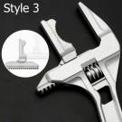 2 X Home Multifunction Plumber Wrench Repair Tool