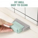 6 X Home Handheld Window Groove Cleaning Tool Window Slot Dust Remover Door Gap Cleaner Kitchen Sink Cleaning Brush Random Picked