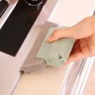 3 X Home Handheld Window Groove Cleaning Tool Window Slot Dust Remover Door Gap Cleaner Kitchen Sink Cleaning Brush Random Picked