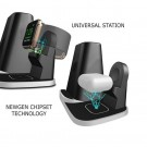 4 In 1 Universal Wireless Charging Station and Storage Box for Apple QI Devices