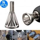8 X Deburring External Chamfer Remove Tool Drill Bit Tool