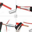 4 X Quick Twist Wire Tool Wire Twisting Tool Wire Stripper and Twister Electrical Cable Connector 4 Square