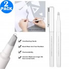 2 X Pen Shape Ceramic Blade Paper Cutter DIY Tool with Safety Cap