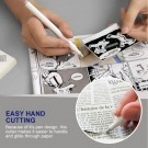 4 X Pen Shape Ceramic Blade Paper Cutter DIY Tool with Safety Cap