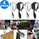 4 Pack 24 In 1 Multifunctional Key Tool Screwdriver Bottle Opener Measuring Wrench Box Cutter Bit Driver