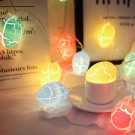 4 Pack 2 Modes 20LED Easter Decoration Lights Battery Operated Egg String Lights Home Fairy Lights Festival Party Lamps