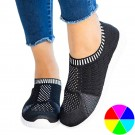 Womens Casual Walking Shoes Breathable Mesh Work Slip On Sneakers