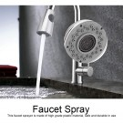 2 Modes Pull Down Faucet Spray Head Kitchen Sink Faucet Nozzle Head Sprayer Style 7