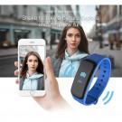 C1Plus Smart Bracelet Water Resistant Fitness Tracker Heart Rate Blood Pressure Monitor Smart Watch Blue