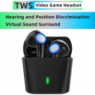 L35 Gaming Earbuds Wireless Earbuds Bluetooth 5.0 Headphones Touch Control Headset with Charging Case
