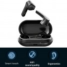 LB-20 Wireless Earbuds Bluetooth 5.0 Headphones Hi-Fi Stereo Touch Control TWS Headset with Charging Case Black