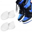 2 Pairs White Mens Shoe Anti Crease Protector Sneaker Shoes Crease Guard