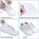 4 Pairs White Mens Shoe Anti Crease Protector Sneaker Shoes Crease Guard