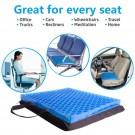 Breathable Honeycomb Design Gel Seat Cushion