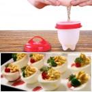 6PK Egg Cooker Hard Soft Maker