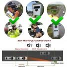 2PK Speed V8 Laser Radar Detector 16 Band Auto 360 Degrees Voice Alert Warning Car Locators
