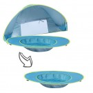 Portable Shade Pool UV Protection Baby Beach Tent Blue