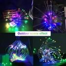 120 Bright Remote Control Explosion Star LED Fireworks Light Multicolor
