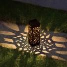 4 Pcs Solar Powered LED Garden Lights Warm White