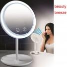 5 in 1 Touch Sensor LED Mirror Built in Fan