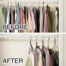 6 X Closet Saver 360 Swivel Hangers