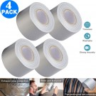 4 Pack 5cmx20m Heavy Duty Duct Tapes Silver
