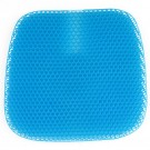 Honeycomb Design Soft Gel Seat Cushion with Groove Design