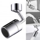 Universal Splash Filter Faucet 720 Degree Angle Rotatable Faucet Sprayer Head for Kitchen Bathroom