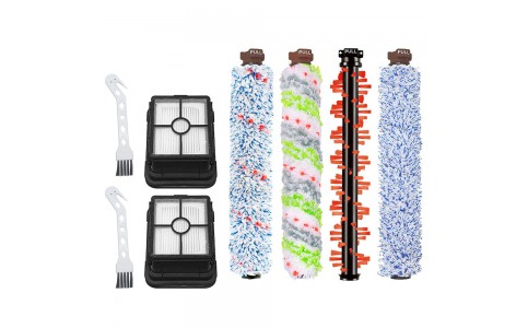 Non-Branded Replacement Kit Vacuum Filter Brush Roll Set Compatible with Bissell
