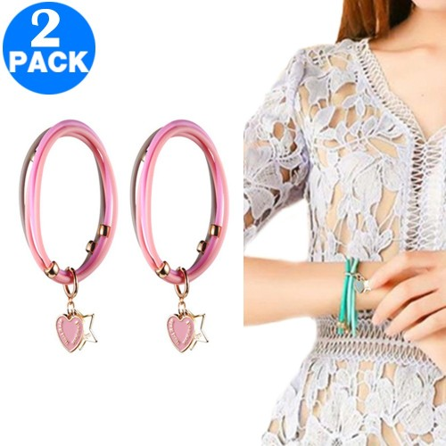2 X Mosquito-Repellent Bracelets Pink
