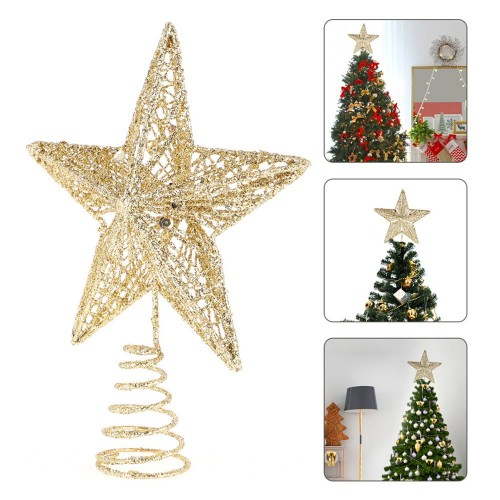 Christmas Tree Top Sparkles Star Christmas Tree Topper Decoration