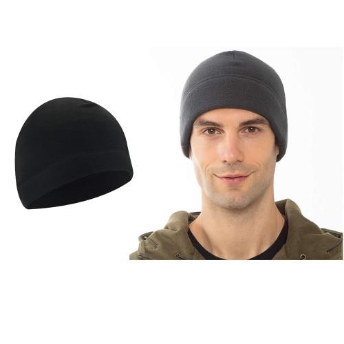 2pcs Outdoor Polar Fleece Snow Helmet Liners-Khaki and Black