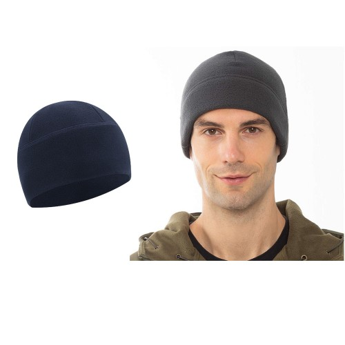 2pcs Outdoor Polar Fleece Snow Helmet Liners-Dark grey and Navy