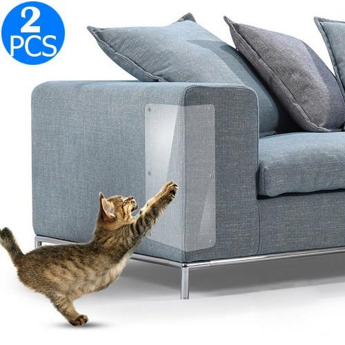 2 Pcs Cat Scratch Protectors Sofa Couch Furniture Protectors