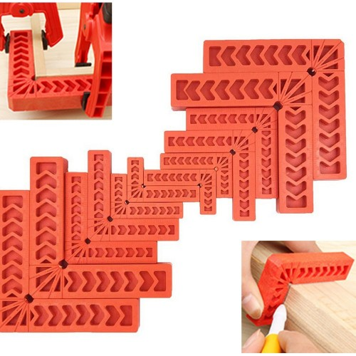 12 X 3 inch 4 inch 6 inch Positioning Squares 90 Degree Right Angle Corner Clamps Woodworking Tools