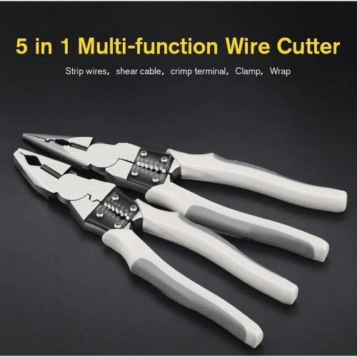 8 Inches Multifunction Wire Cutter Home Tool