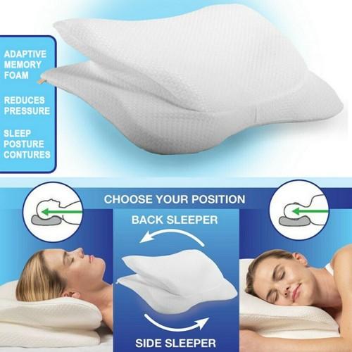 Neck Pillow Sleeping Pillow Back Side Sleeper Pillow Memory Foam Pillow