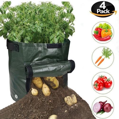 4X 50L Potato Planter Bags