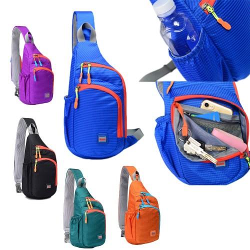 Outdoor Waterproof Nylon Chest Bag
