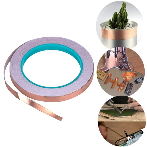 6mmx20m Copper Foil Tape for EMI Shielding