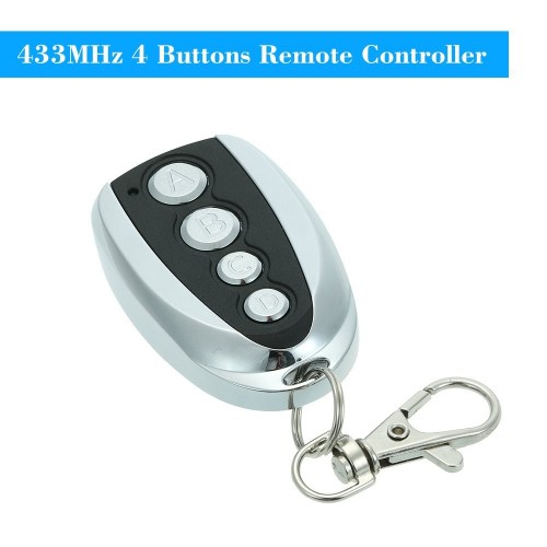 433MHz 4 Buttons Copying Remote Control Transmitter