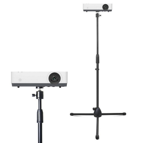 Adjustable Projector Tripod Stand Floor Stand Holder with 360 Degree Swivel Ball Head for Projector